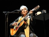 Joan Baez Performs At Royal Festival Hall In London